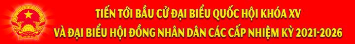 Banner Bầu cử ĐBQH XV