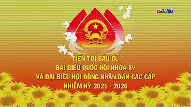 Logo Bầu cử ĐBQH XV