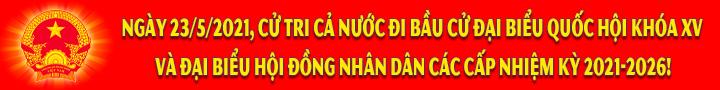 Banner Bầu cử ĐBQH-ĐBHĐND 3