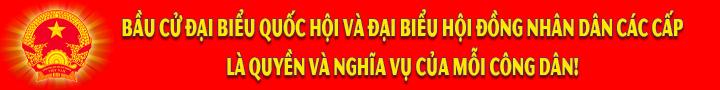 Banner Bầu cử ĐBQH-ĐBHĐND 4
